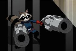 Rocket Raccoon AEMH