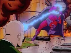 Xavier Blasts Magneto