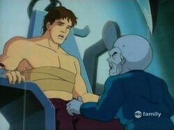Bruce Meets Gargoyle