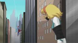 Gwen Captured Sees Spidey SSM
