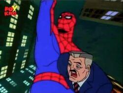 Spider-Man Takes Jameson Webslinging