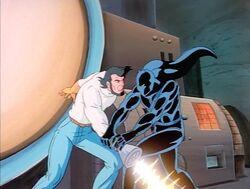 Panther Wrestles Klaw
