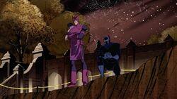 Avengers Examine Korvac Crater AEMH