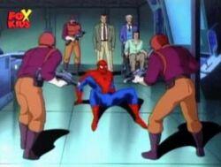 Kingpin Goons Surround Spider-Flash