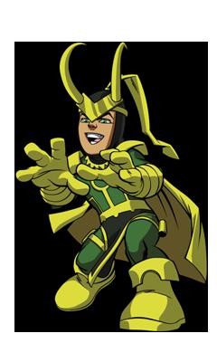 Risultato immagini per super hero squad show loki