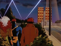 Outside X-Men Observe MCA