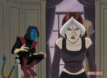 Rogue angry at Nightcrawler XME