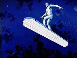 Silver Surfer Anticipates Galactus Attack