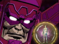 Galactus Cannot Trust Silver Surfer