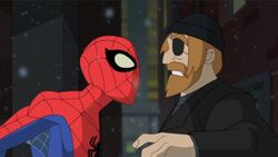 Spidey Confronts Patch SSM