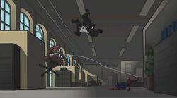 Spider-Man Yanks Chair SSM