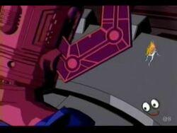 Galactus looks down