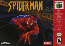 Spider-Man 2000 Video Game N64