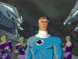 Skrull Imperial Guard Surround Mister Fantastic