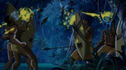 Wasp Blasts Wakandans UA2