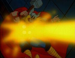 Galactus Blasts Thor