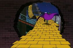 Mysterio Yellow Brick Road