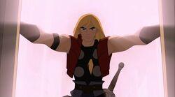 Thor Enters Throne Room TTA