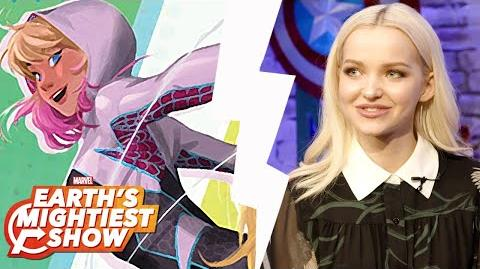 Dove Cameron Turns Web Warrior, Marvel Rising