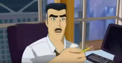 J Jonah Jameson (Spider-Man The New Animated Series)