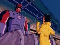 Sentinel Calls Jubilee Mutant