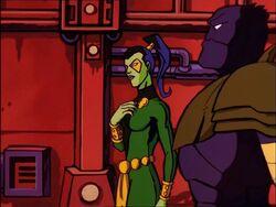 Gamora Introduces Herself