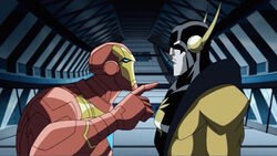 Iron Man Yellowjacket Argue AEMH