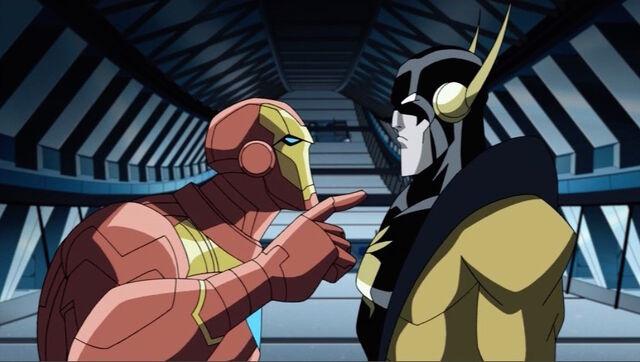 File:Iron Man Yellowjacket Argue AEMH.jpg