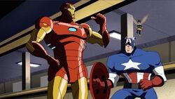 Iron Man Surrenders Quinjet AEMH