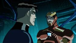 Iron Man Tells Mister Fantastic to Build Wormhole AEMH