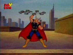 Thor Leaves Hospital