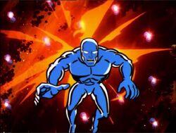 Kree Deflectors Blast Silver Surfer