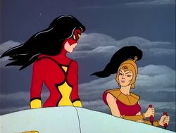 Spider-Woman and the Amazons