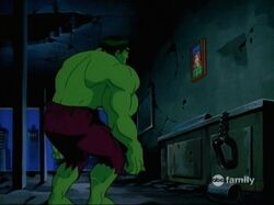 Hulk Finds Picture
