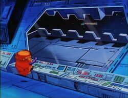 MODOK Sees Force Works Space Ship