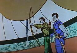Swordsman trains Hawkeye msh
