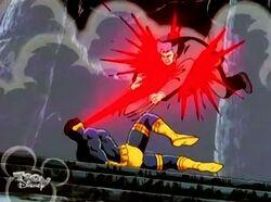 Cyclops Bot Attacks Logan