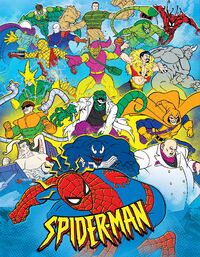 Spider-Man TAS Characters Legacy