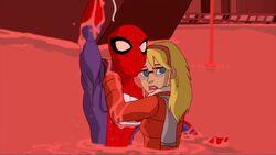 Spider-Man Saves Gwen SSM