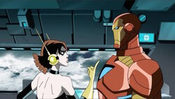 Wasp Will Attack Iron Man AEMH