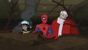 Spidey Talks To Santa SSM
