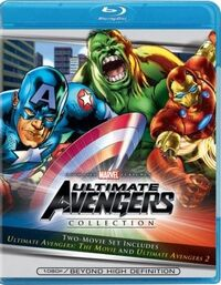 Ultimate Avengers Blu Ray