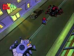 Black Widow II Tarantula Surround Spider-Man