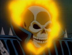 Ghost Rider Fire Head