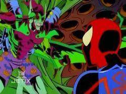 Goblin CE Salutes Spider-Man
