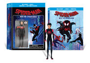 Spider-Man Into the Spider-Verse Wal-Mart Exclusive Blu-Ray