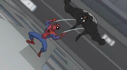 Spider-Man Webslams Venom SSM