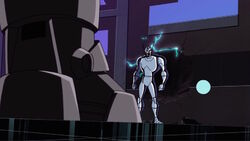 Iron Man Grey Approaches Ultron AEMH