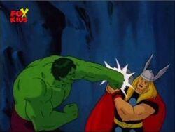 Mjolnir Blocks Hulk