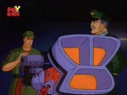 Soldier Advises Against Omega Laser